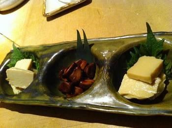 桃源郷の二種類豆腐.jpg