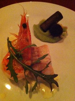 鮮魚と海老、ホタテのポアレ.jpg